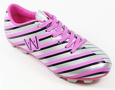 Walstar Girls Soccer Shoe Cleat(Toddler/Little Kid/Big Kid) * Read more at the image link.