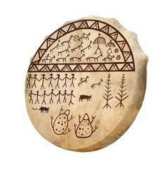 Drum of the shaman stock image. Image of skin, yakut, tambourine - 9142643 Drum Craft, Shaman Woman, Drums Art, Tambourine, Medical Illustration, Indigenous Art, Stone Painting, Art Images, Painted Rocks