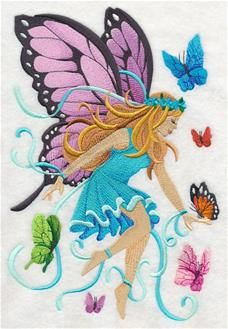 Machine Embroidery Designs at Embroidery Library! - Enchanted Garden