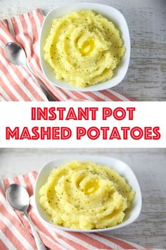 Instant Pot Mashed Potatoes - Tastefulventure Easy Mashed Potatoes, Mashed Potato Recipes, Peeling Potatoes, Cranberry Vinaigrette, Leftover Turkey, Quinoa Salad, Side Dishes Easy, Stick Of Butter, Clean Eating Recipes