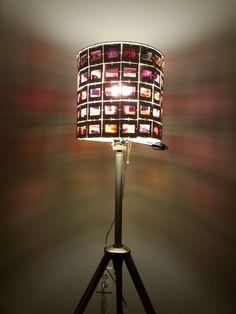 35mm Slide Lamp Shade by FlippyMondo on Etsy, $40.00