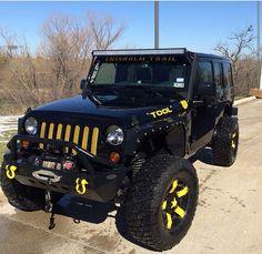 Matte Black Kevlar SoBe Edition – Jeeps for Sale | Jeeps | Pinterest