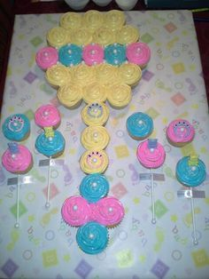 CUPCAKE CAKES THIS IS PRETTY NEAT