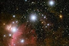 The Orion constellation is one of the most prominent star patterns in the sky.