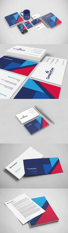 ConductCare – Corporate Design by Kempeli... - a grouped images pin by Pinthemall.net - Pin Them All
