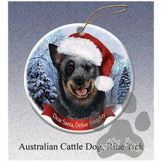 Australian Cattle Dog Howliday Dog Christmas Ornament