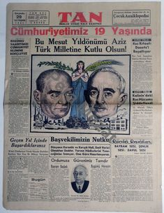 Turkey History, Newspaper, Event Ticket, Istanbul, Pictures, Journaling File System