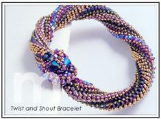 twist and shout bracelet designed by mabeline gidez