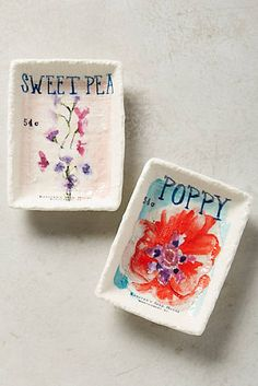 Seed Packet Trinket Dish