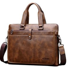 Vintage Business Laptop Bag Handbag for Men - Banggood Mobile