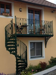 Victorian Spiral with Matching Balcony