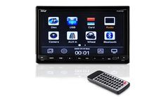 "Pyle 7"" Double DIN Bluetooth Headunit Receiver with Built-In..."