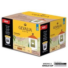 Gevalia Columbian Coffee, Single Serve (84 ct.)