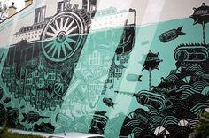 Street Art Kraków, PL #kraków #cracov #poland #polska #streetart #mural #urbanart #PL #seeuinpoland #visitpoland #polandtravel #art