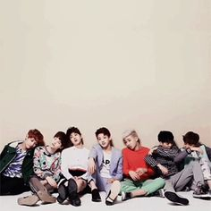 BTS: leaning lol I have several versions of this gif smh
