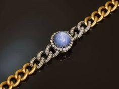 Top notch star sapphire bracelet