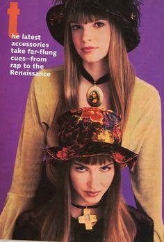 velvet hats + chokers #nastygal #minkpink