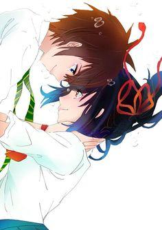 君の名は。(イラスト)kimi no na wa (your name) Kimi No Na Wa, Kuroko, Manga Art, Manga Anime, Mitsuha And Taki, Ichigo Y Rukia, Your Name Anime, Sailor Moon, A Silent Voice