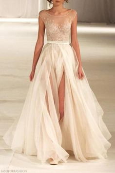 Omg this WILL be my wedding dress.  With long lace sleeves!