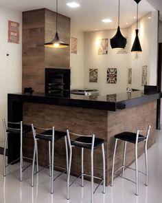 Kitchen Room Design, Kitchen Interior, Bakery Shop Interior, Küchen Design, House Design, Small Bars For Home, Home Bar Furniture, Shop Interiors, Interior Decorating