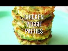 This chicken veggie patties recipe is a healthier alternative to your classic chicken nugget. Give it a try it is sure to be a family favorite!