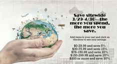 BIGGEST Earth Month sale of the year of all the reusable items you need! Earth Month, City Living, Ads, Live, Green