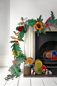 15 holiday paper flower tutorials - The House That Lars Built