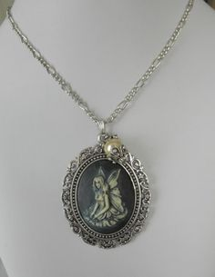 A Beautiful Fairy Cameo Necklace | jnldesigns - Jewelry on ArtFire