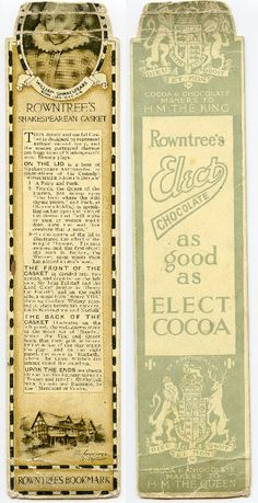 Rowntree's Chocolate
