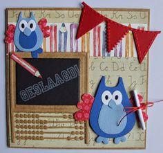 Marianne Design, Punch Art, Stamping Up, Scrapbooking, School, Birthday, Cards, Inspiration, Hedgehog