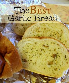 Spindles Designs by Mary & Mags: The Best Garlic Bread
