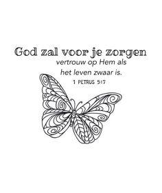 God zal voor je zorgen 1 Peter 5:7