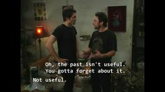 The Past Is Not Useful. IASIP