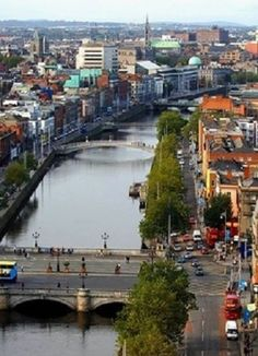 Dublin is the capital and largest city of Ireland. Dublin is in the province of Leinster on Ireland's east coast, at the mouth of the River Liffey. Places To Travel, Places To See, Wonderful Places, Beautiful Places, Virgin Gorda, Irish Sea, England, Jaisalmer, Ireland Travel