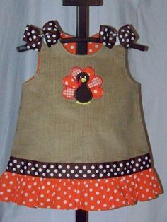 Turkey dress....LOVE - although I think my daughter is a bit too old :(