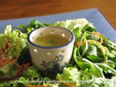 Receita Entrada : Salada mista com quinoa e molho cítrico de Cris - Brasil