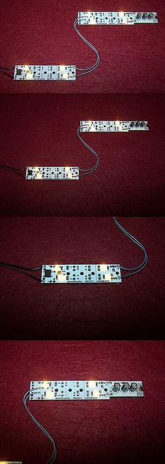 Lamps and Lights 80984: G Scale Dual Quad Led Lights With 3M Self Adhesive+ Accucraft+Anti-Flicker Caps -> BUY IT NOW ONLY: $32.99 on eBay!