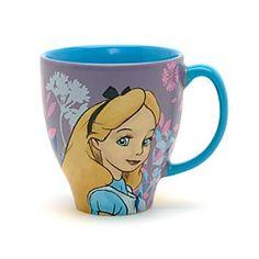 Disney Alice im Wunderland - Becher mit Skizzenmotiv