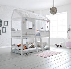 Amazing #bed for #kids. Perfect #room by Lifetime. La meravigliosa casetta-letto per bambini.
