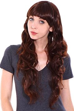 Long Wavy Fashion Hair Heat Resistant Beautiful Bouncy Curls Wig, #010 - Brought to you by Avarsha.com