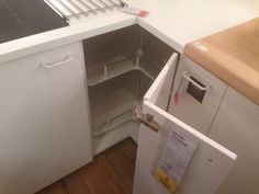 Ikea new home ideas - this unit had a spinny thing inside, bloody awesome!!!! But not the kitchen we're buying :)