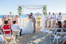 Destination Wedding at Riu Palace Los Cabos in Mexico - Kristy & Christopher - WeddingVacations.com