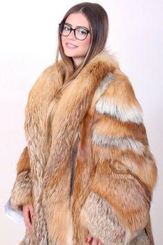 Fox Fur Jacket, Fox Fur Coat, Fur Coats, International Trade, Red Fox, How To Wear, Furs, Jackets, Ebay