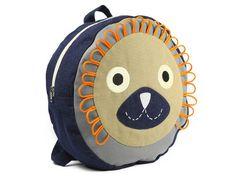 Animal Backpacks! Sheep, Fox, and Lion! www.treehousekidandcraft.com