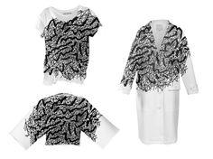 Profile Design, Kimono Top, Lace, Creative, Illustration, Tops, Women, Fashion, Moda