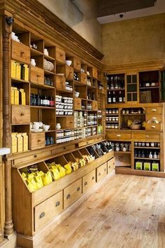 Store displays ideas make your happy selling 87 store interiors, shop fronts, food design Country Store Display, Country Shop, Country Life, Deco Restaurant, Restaurant Design, Design Food, Design Ideas, Farm Store, Store Displays