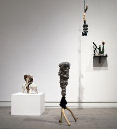 Sara Möller´s group of sculpture