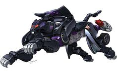 Transformers Alternators Alt-25 (Alt-26) Ravage by dan-the-artguy