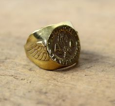 50s American Airlines Junior Stewardess Ring