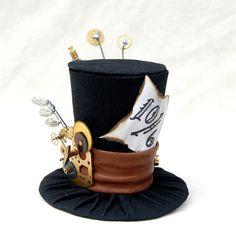 Steampunk Mad Hatter geek